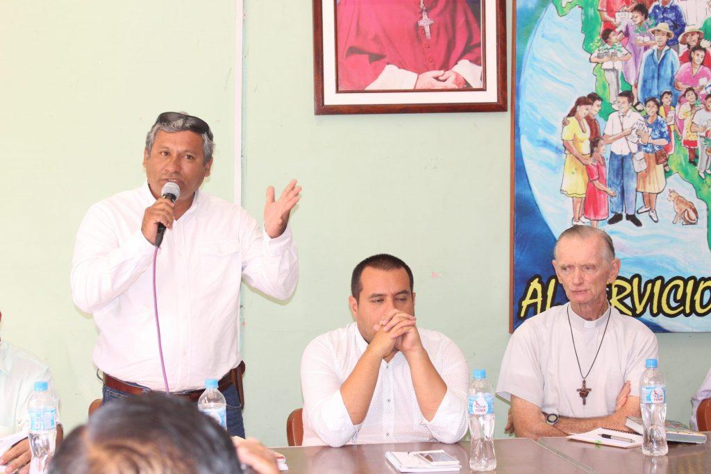 PEIHAP SE REUNE CON  FRENTE DE DEFENSA Y ALCALDES